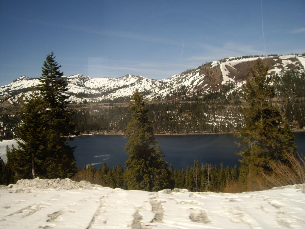 Donner Pass from California Zephyr