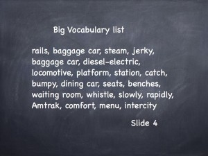 Big Vocabulary list