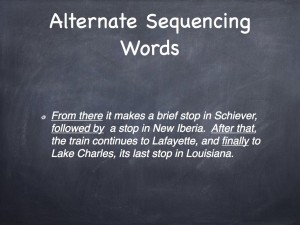 Sequencing 10.005