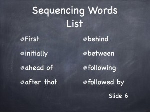 Sequencing 10.006
